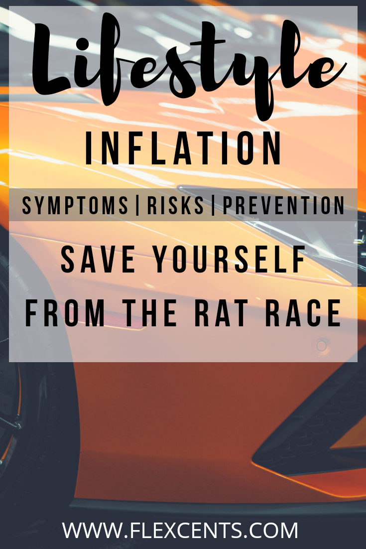 Lifestyle Inflation: Save Yourself From The Rat Race