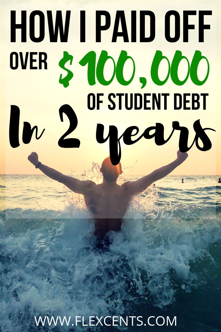 Breakdown Of How I Paid Off Over $100,000 In Student Loans Within 2 years