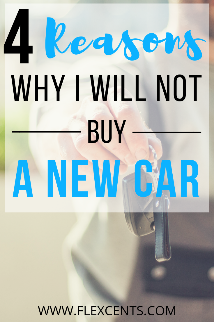 Why I Don't Want To Buy A New Car